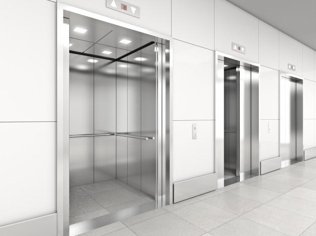 نمای یک آسانسور هیدرولیک