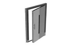درب های لولایی آسانسور